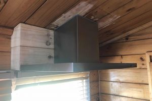 The Lone Ranger- Lockwood house - after rangehood installation