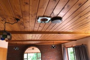 Rangehood installer - ceiling vent